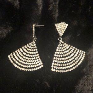 Classy CZ stone earrings